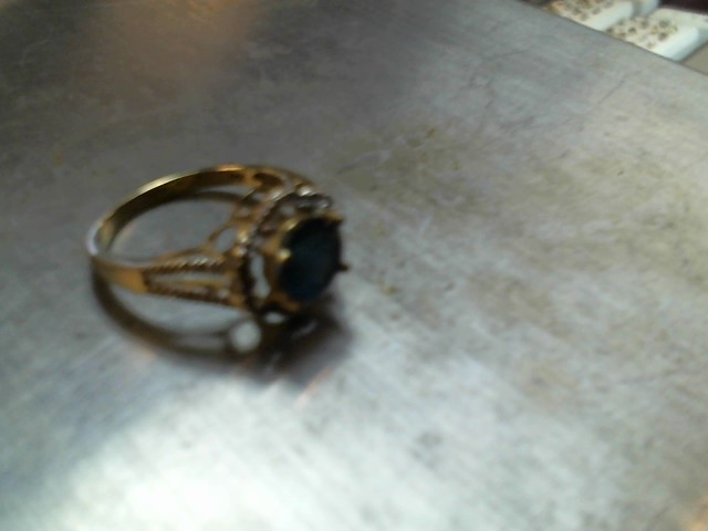 Lady's Gold Ring 14K Yellow Gold 11.6g