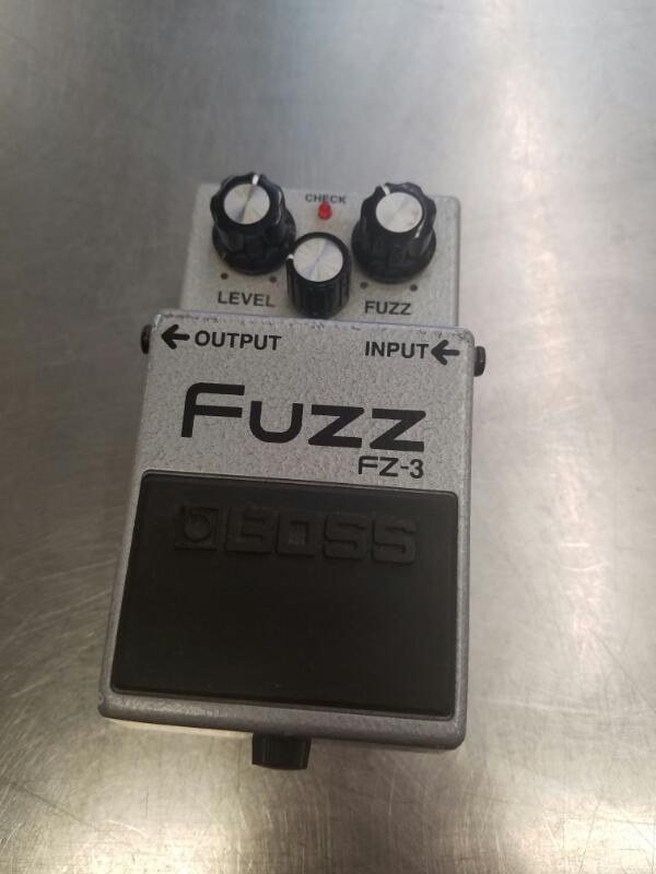 BOSS Effect Equipment FZ-3 FUZZ