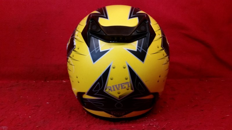 Scorpion EXO-700 Rivet Motorcycle Helmet - Size Small