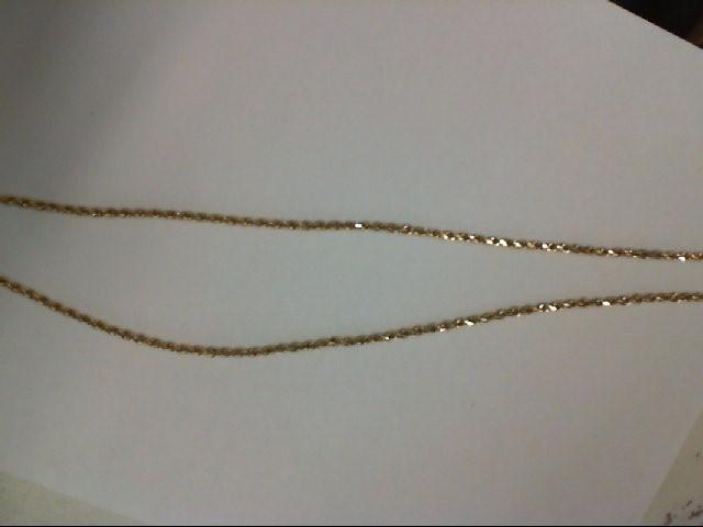 Gold Chain 14K Yellow Gold 5.8g