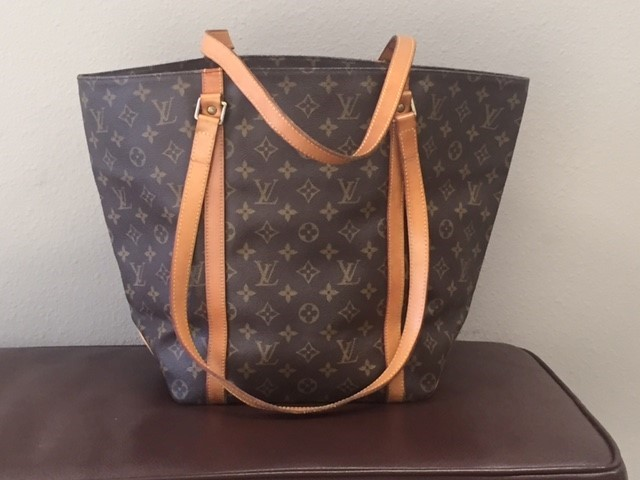LOUIS VUITTON Handbag MONOGRAM SAC SHOPPING
