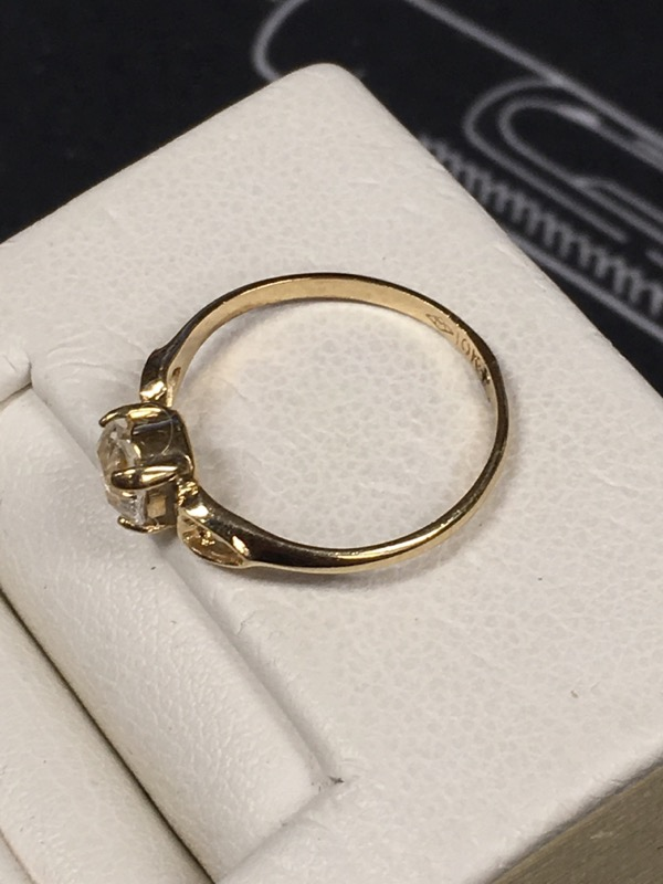 Fashion Accessory GOLD-TONE RING