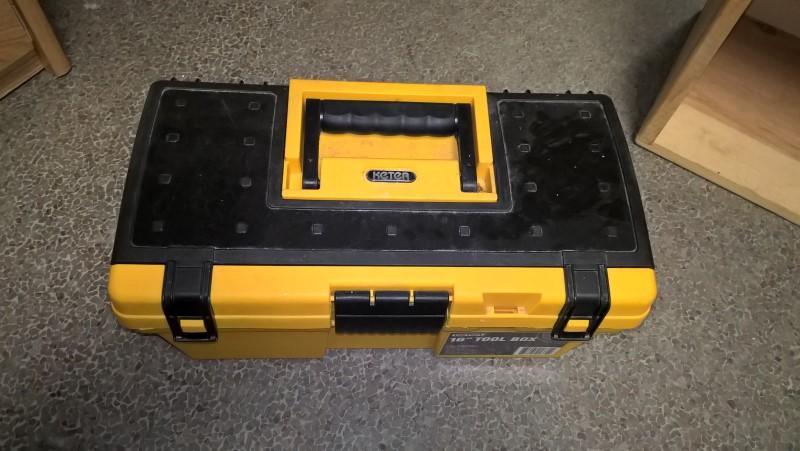 KETER Tool Box with Tools TOOL BOX