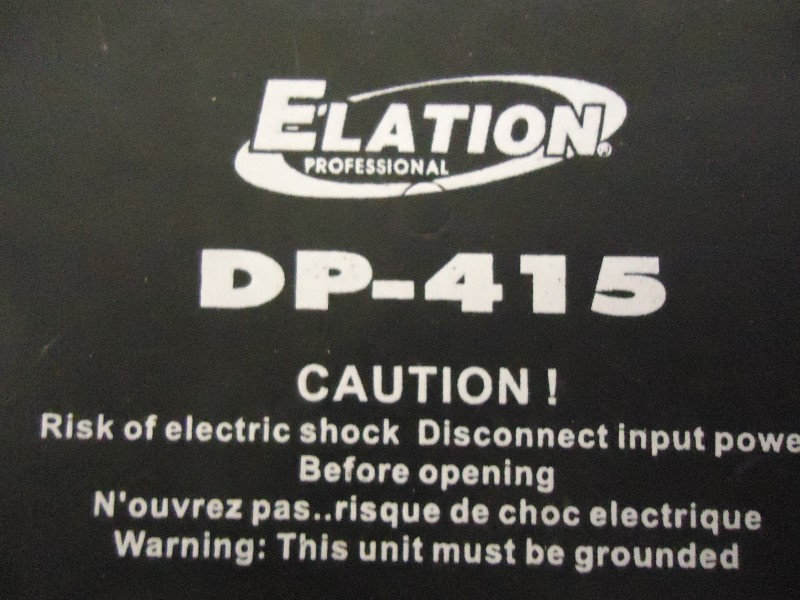 ELATION LIGHTING Stage Lighting/Effect DP-415