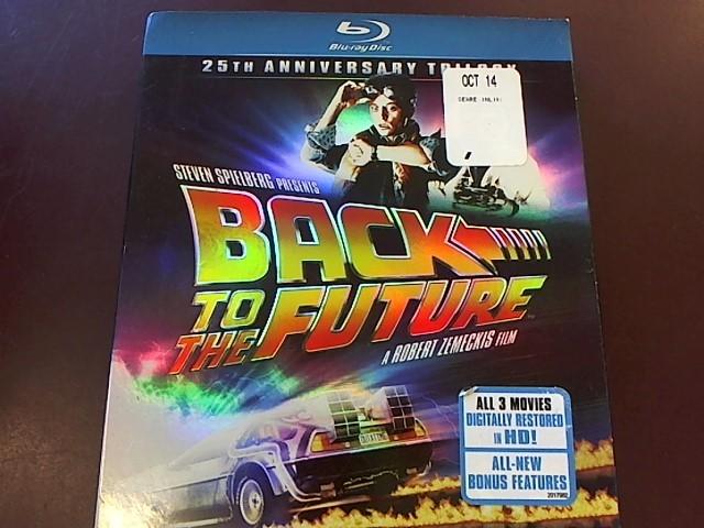 BACK TO THE FUTURE TRILOGY BLU-RAY BOX SET