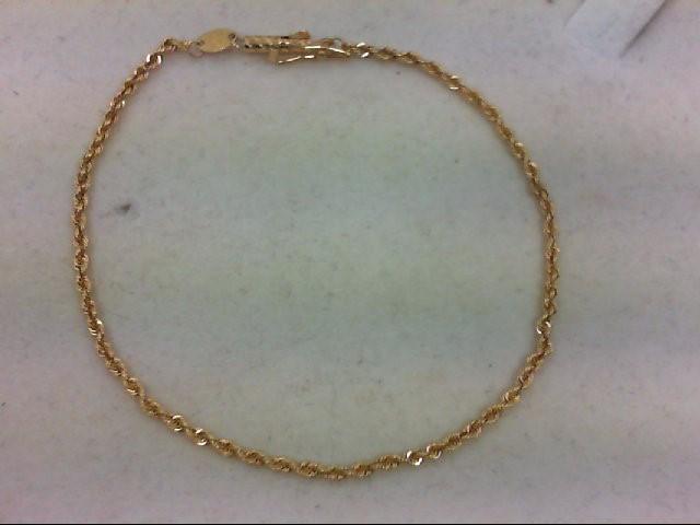 Gold Bracelet 18K Yellow Gold 2.2g