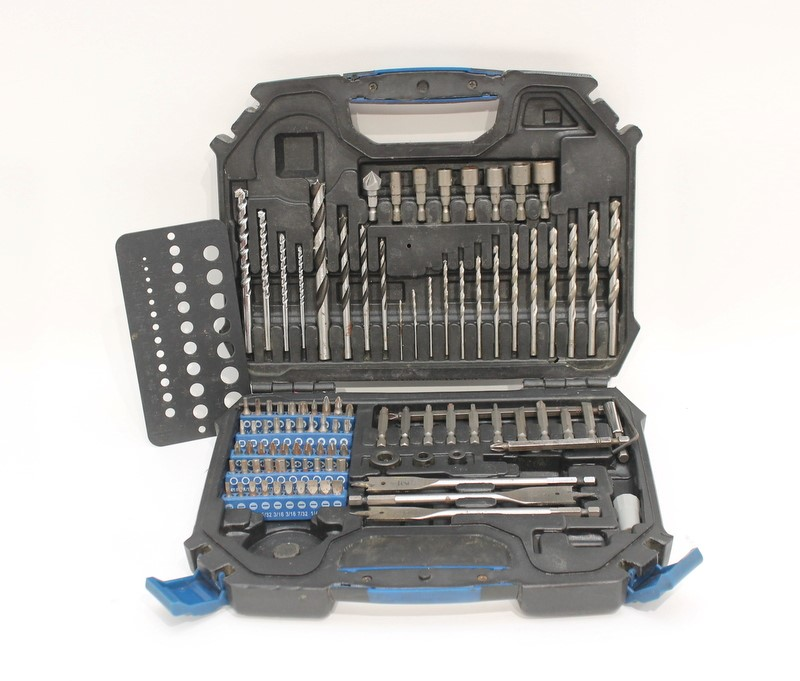 GTV Drill Bit Set Approximately 102 Pieces (Not Complete)>