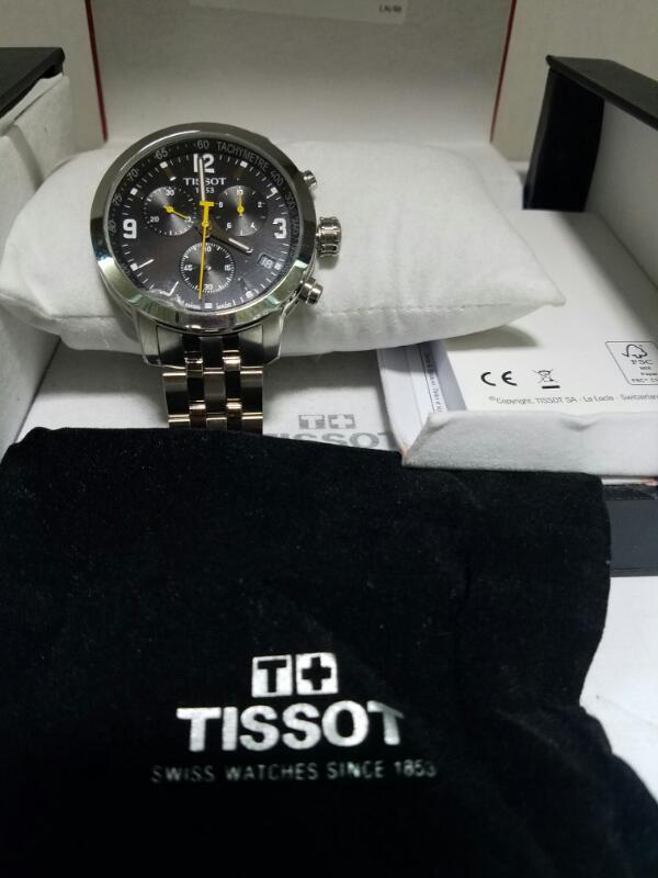 TISSOT G10 GOLD/SILVER WATCH PLATED   MNS WATCH IN BOX