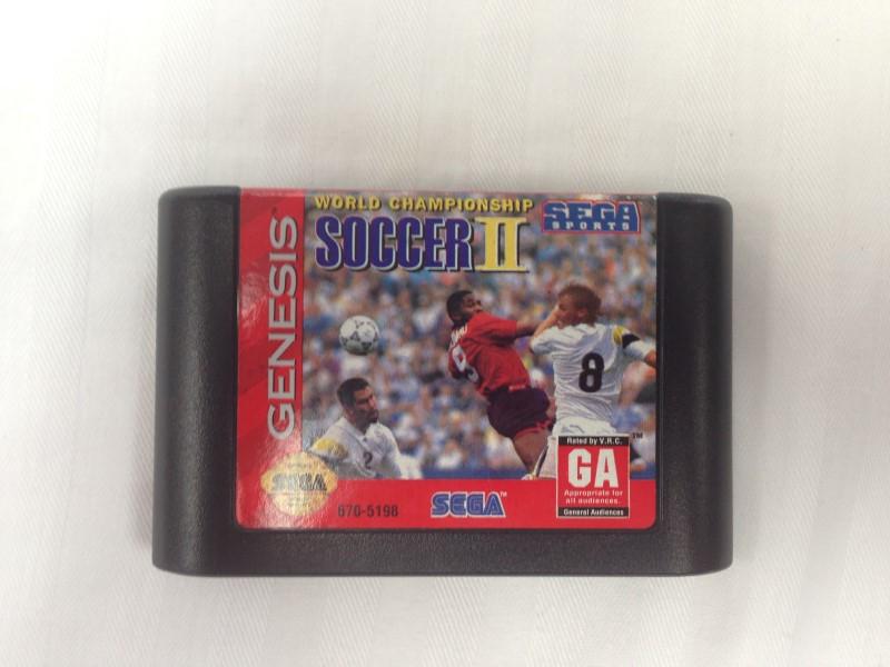 World Championship Soccer II 2 (Sega Genesis, 1994)