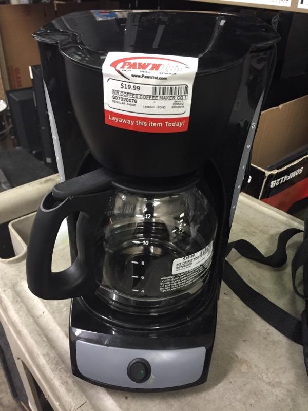 MR COFFEE Coffee Maker CG 13