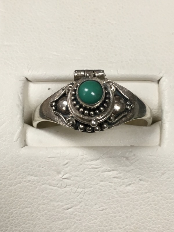 Gent's Silver Ring 925 Silver 4.1dwt
