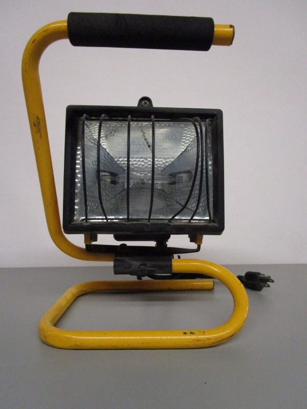 PORTABLE WORK LIGHT, 500 WATT MAX