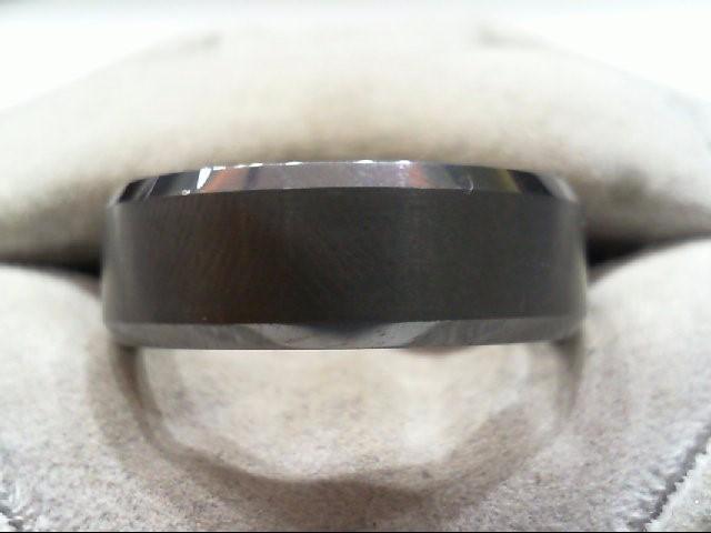 Gent's Ring Black Tungsten 19.2g