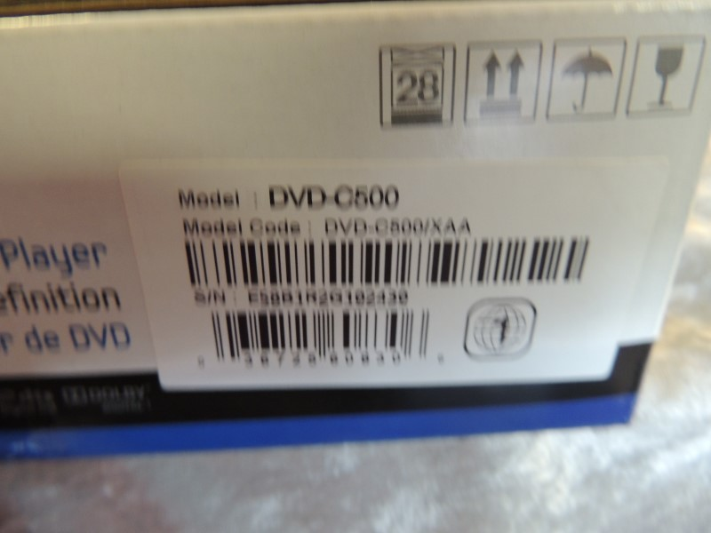 Samsung - DVD Player with HD Upconversion - Black