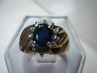 Lady's Gold Ring 10K Yellow Gold 4.2g Size:7