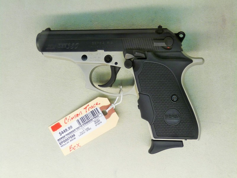 BERSA THUNDER 380 W/CRIMSON TRACE LASER