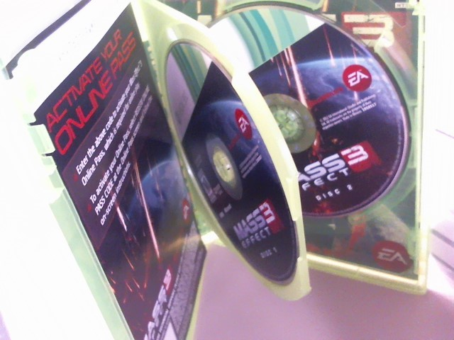 MASS EFFECT 3-XBOX 360