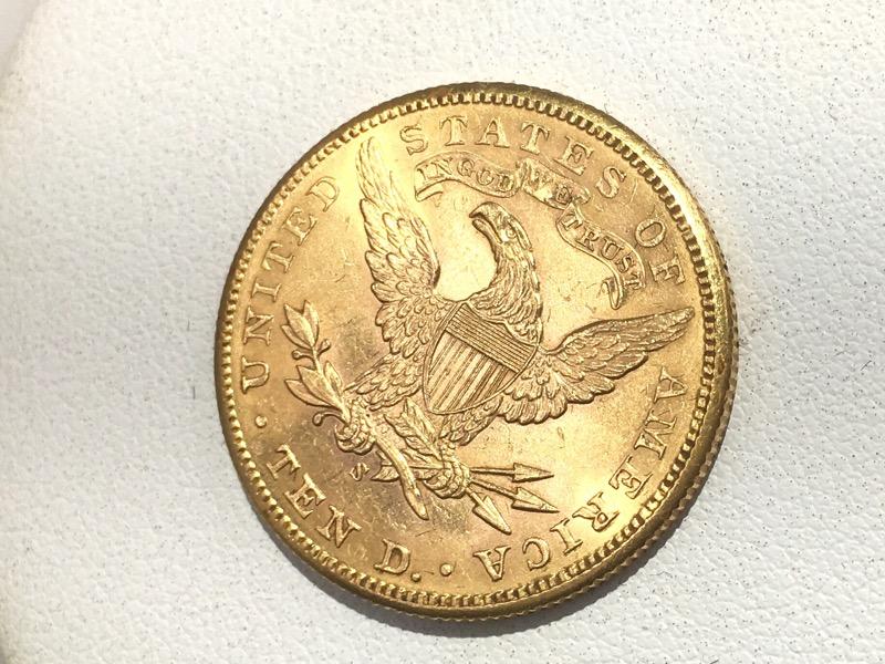 1905-S U.S. Gold $10 Ten Dollar Eagle Liberty Head Coin