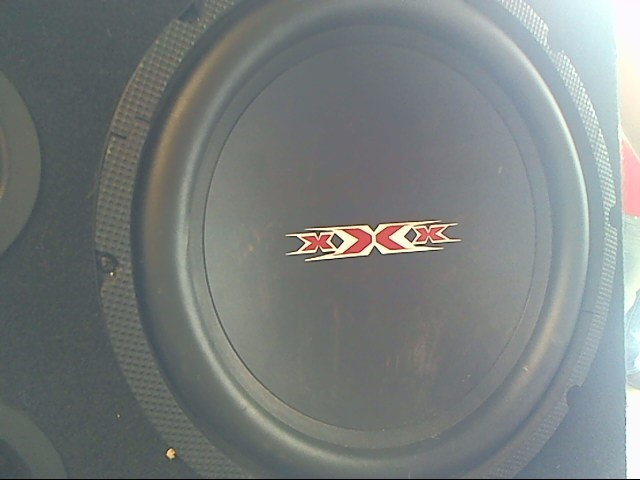 TRIPLE XXX Car Speakers/Speaker System 300 WATT SUBWOOFER