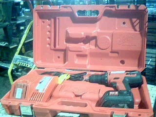 MILWAUKEE Cordless Drill 0612-20