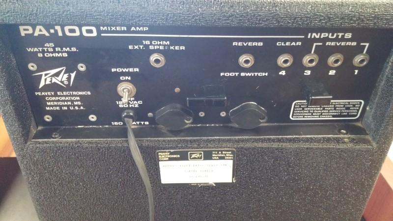 PEAVEY PA System 112PT PA-100