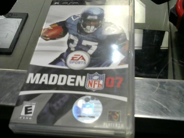 SONY Sony PSP Game MADDEN NFL 07 PSP