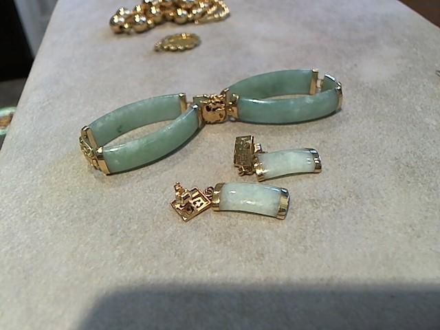 Gold Bracelet 14K Yellow Gold 2g