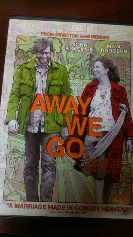 AWAY WE GO DVD MOVIE