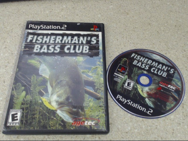FISHERMAN'S BASS CLUB - PLAYSTATION 2 GAME