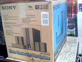 HOME THEATER Surround Sound Speakers & System SA-VE325