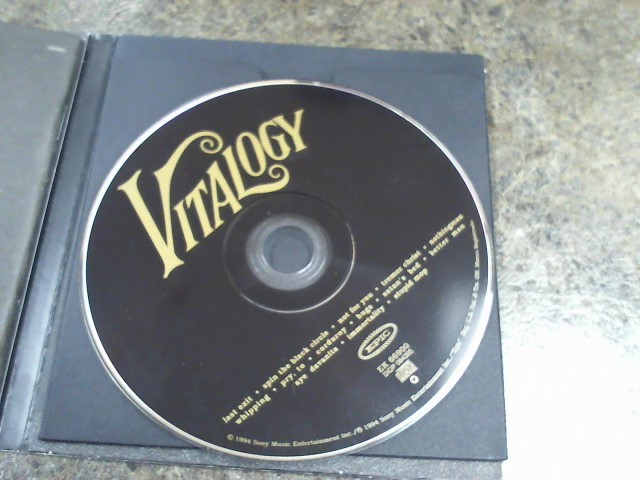 PEARL JAM CD VITALOGY