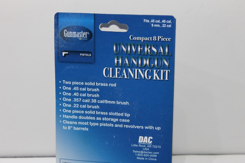 New Gunmaster Universal Cleaning Kit Model HGC2459