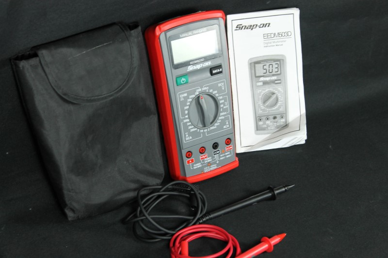 Snap On EEDM503D Advanced Manual Ranging Multimeter