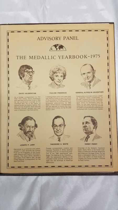 THE MEDALLIC YEARBOOK 1975