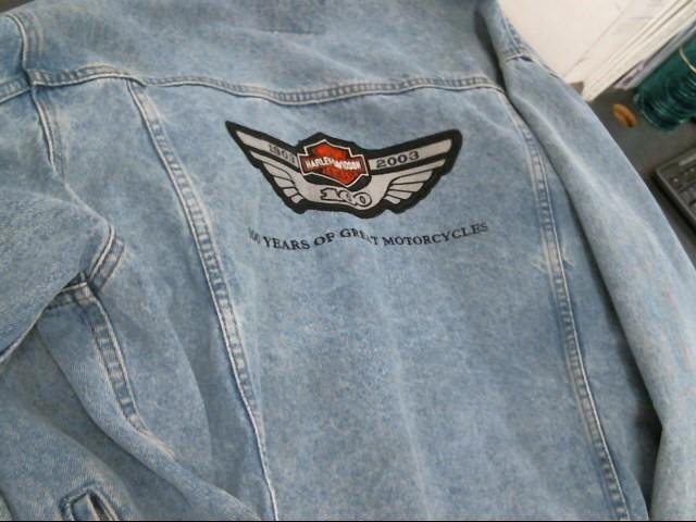 HARLEY DAVIDSON Coat/Jacket JEAN JACKET