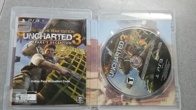 SONY Sony PlayStation 3 Game UNCHARTED 3 - DRAKES DECEPTION