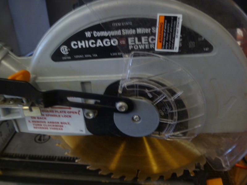 CHICAGO ELECTRIC Miter Saw 61972
