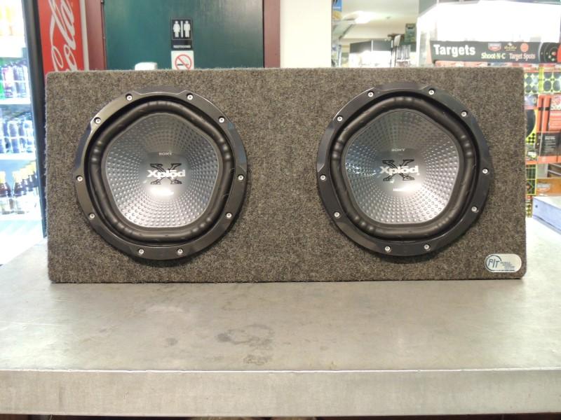 """SONY Car Speakers/Speaker System EXPLODE 10"""" SPEAKER IN BOX"""