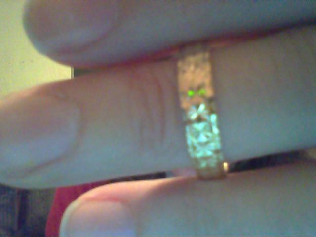 Lady's Gold Wedding Band 18K Yellow Gold 2.6g
