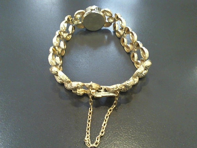 Oscar Heyman Gold Bracelet 14K Yellow Gold 24.2g