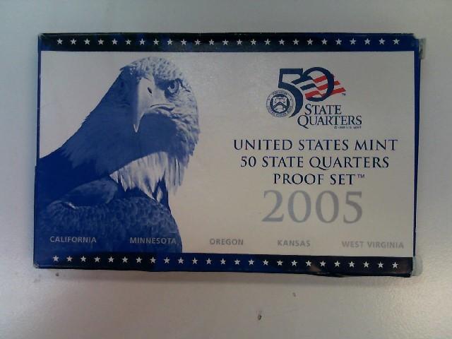 2005 UNITED STATES Proof Set MINT PROOF COIN SET