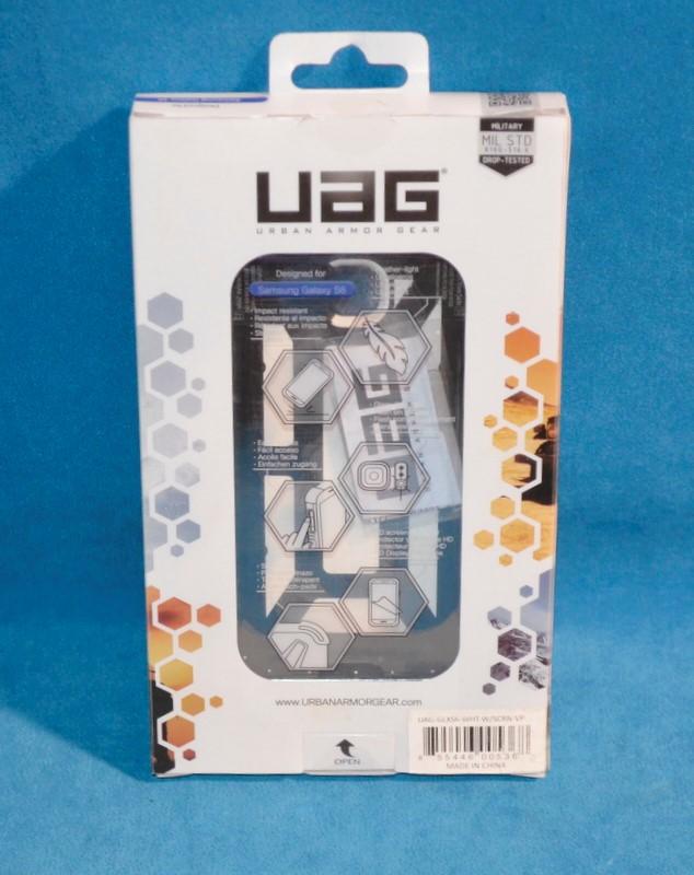 UAG Cell Phone Accessory UAG-GLXS6-WHT-W/SCRN-VP