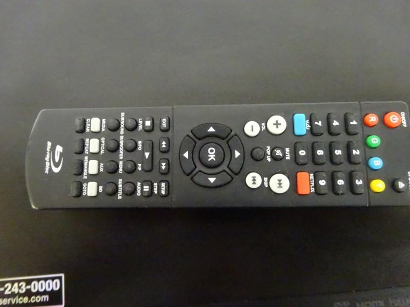 LG DVD Player BLUE RAY BP125