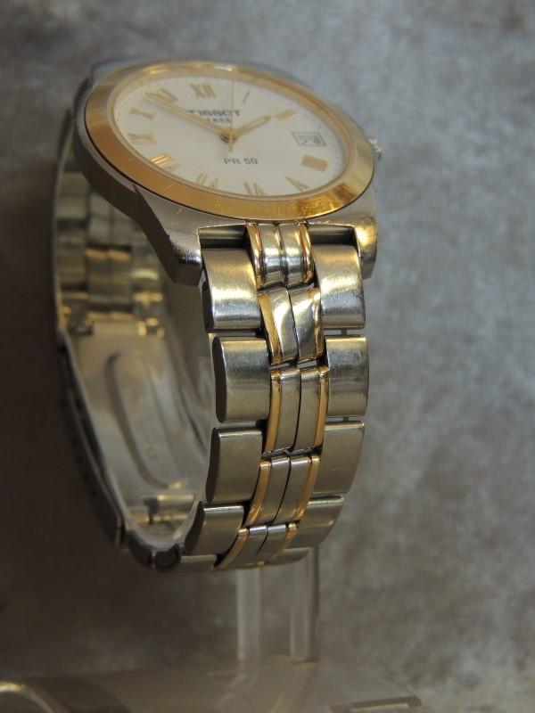 Tissot Watch 1853 PR 50 Swiss Made Wristwatch Water Resistant 50m Mens