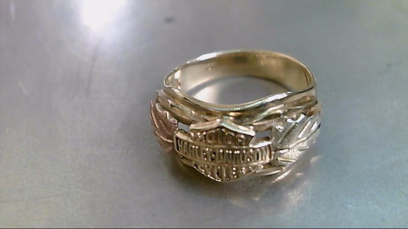 Lady's Gold Ring 10K Tri-color Gold 3.8g