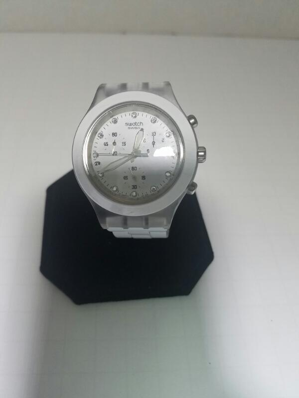 SWATCH IRONY NON-GOLD WATCH    WHITE
