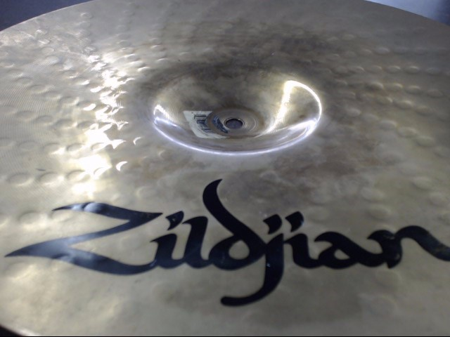 "ZILDJIAN Cymbal Z-CUSTOM ROCK CRASH 16""/40CM"