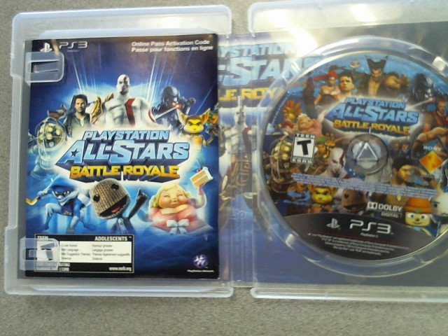 SONY Sony PlayStation 3 Game PS3 PLAYSTATION ALL-STARS BATTLE ROYALE