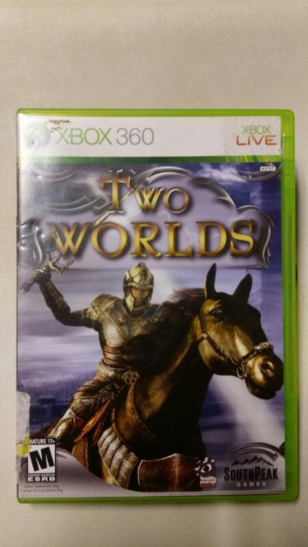 MICROSOFT  XBOX 360 TWO WORLDS VIDEO GAME