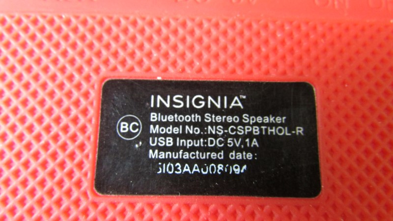 INSIGNIA Speakers NS-CSPBTHOL-R